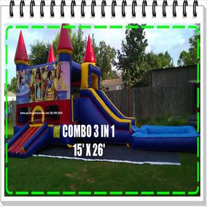 COMBO 3 in 1 15X26