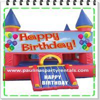 hapy birthday en rojo yazul